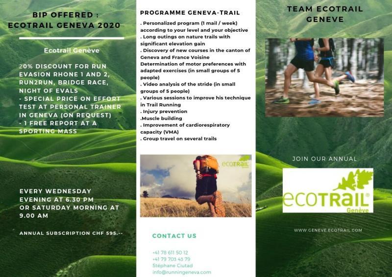 TEAM ECOTRAIL GENEVE   Ecotrail Geneve